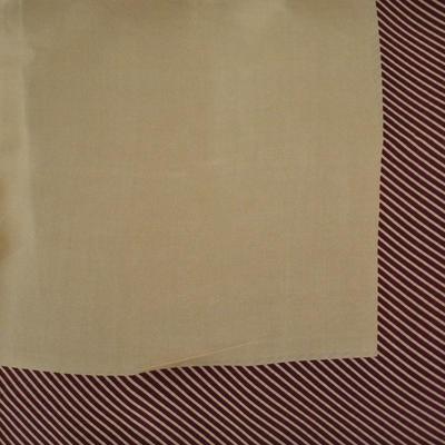 Šátek - hnědý s pruhy - 2