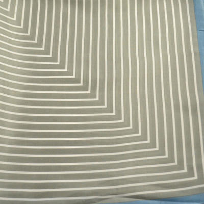 Šátek - šedomodrý s pruhy - 2