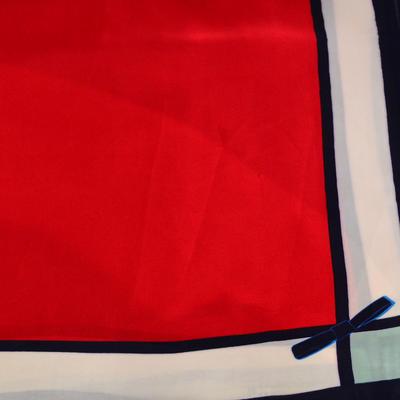 Šátek - červenobílý - 2