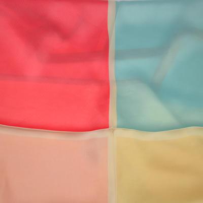 Šátek - modrokorálový - 2