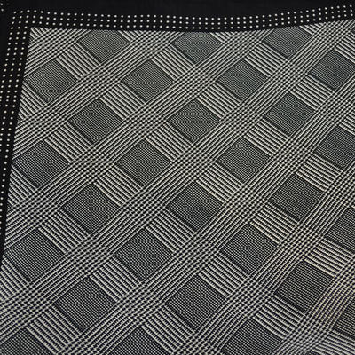 Šátek - černobílý - 2