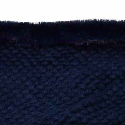 Tunelová kožešinová šála 69tz001-30f - modrá - 2