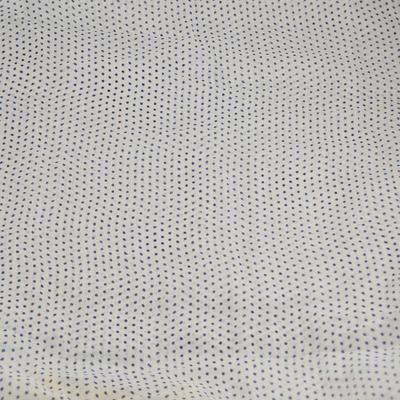 Tunelová šála 69tu003-01.30b - bílá puntíkovaná - 2
