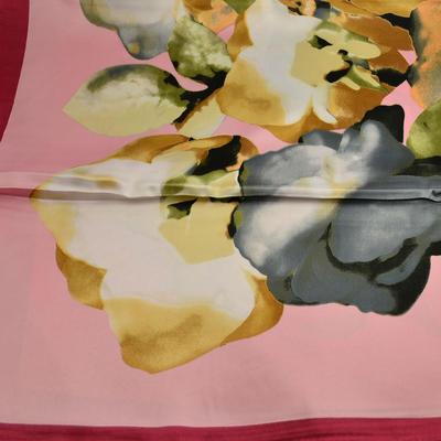 Velký šátek 63sv004-23.14 - růžový - 2