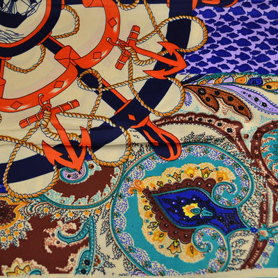Velký šátek 63sv009-30.11 - barevný - 2