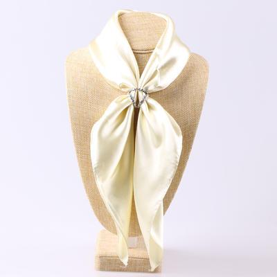 Spona na šátek - stříbrná - 3