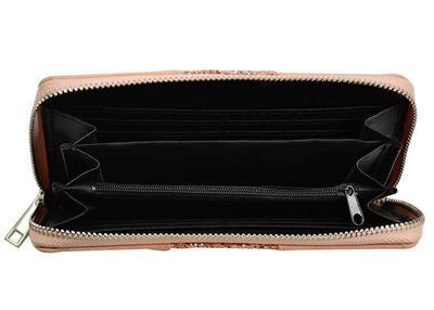Peněženka pen01-23 - růžová s flitry - 3
