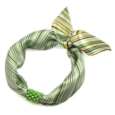 Spona na šátek 100sp51 - světle zelená - 3