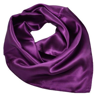 Šátek s bižuterií Letuška- fialový - 3