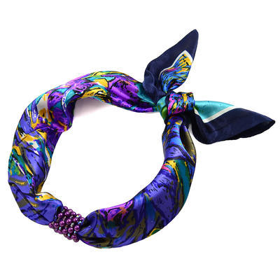 Spona na šátek 100sp33 - fialová - 3