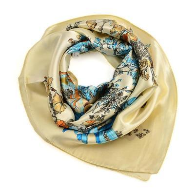 Bijoux Neckerchief Stewardess - blue with polka dot - 4