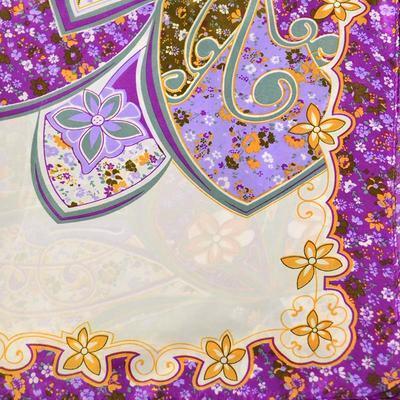 Šátek s bižuterií Letuška - fialový - 5