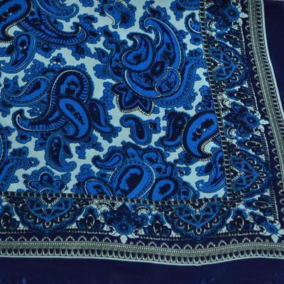 Šátek se sponkou Letuška Light 245lel010-30 - modrý - 5