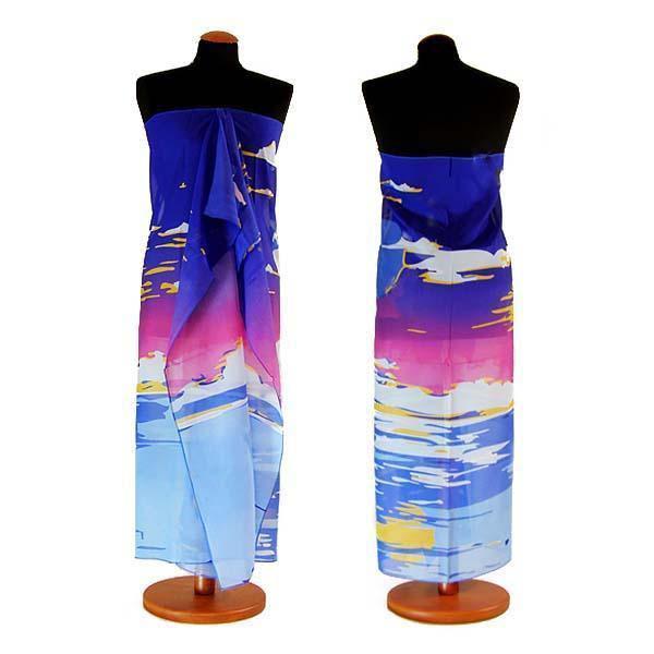 Pareo dámské Astarte par009-30.31 - odstiny modré