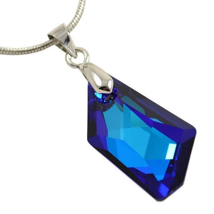 Přívěsek Swarovski Elements De-Art 339akt6670-24-30 - modrý