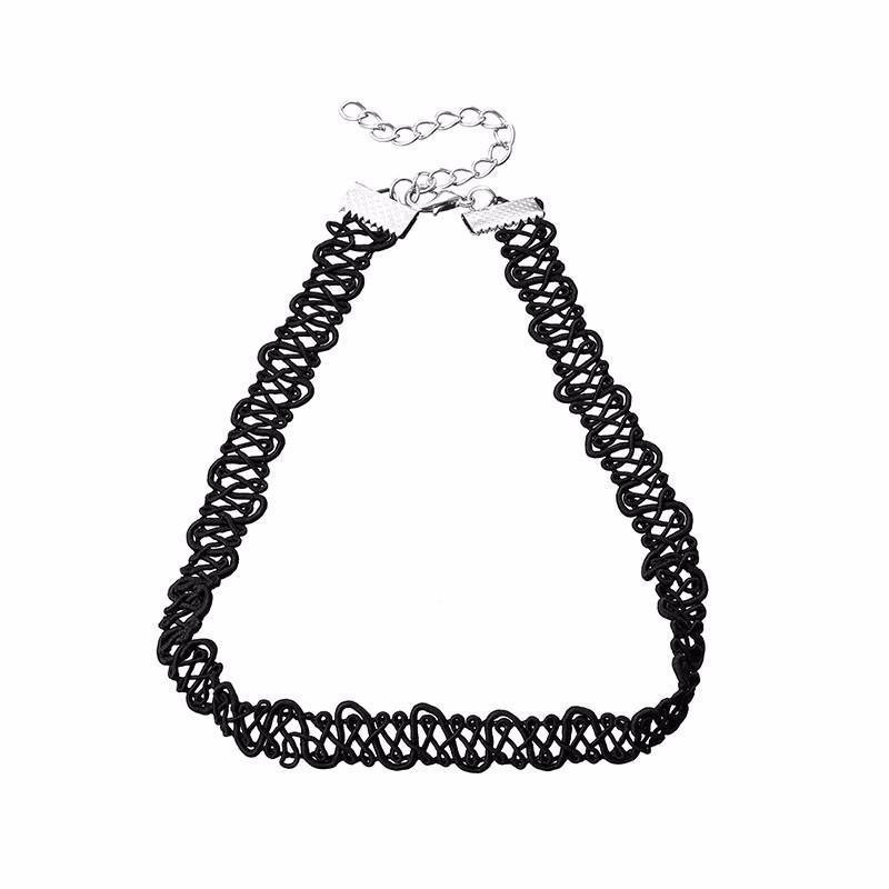 Náhrdelník choker 34ac001-70e - černá krajka