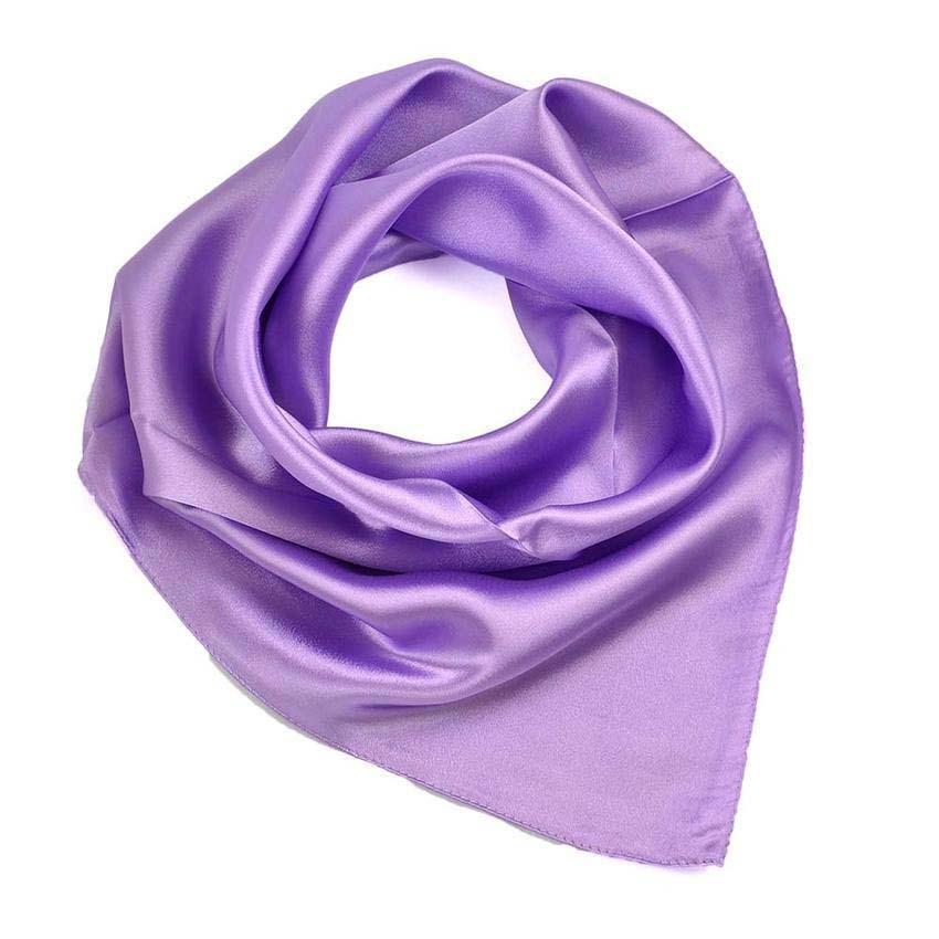 Šátek saténový 63sk001-35 - bledě fialový
