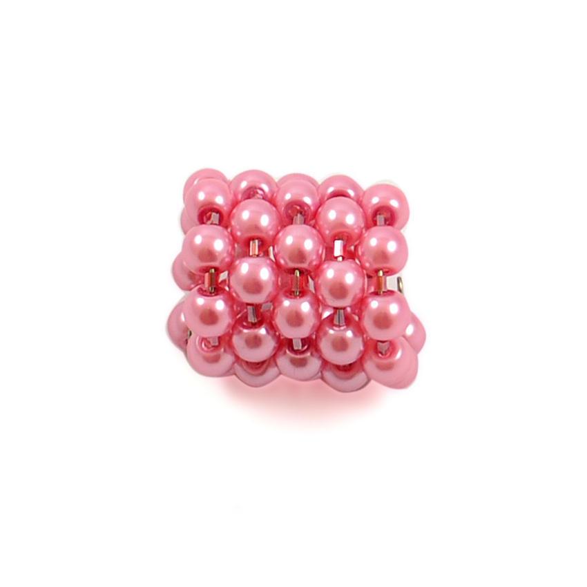 Spona na šátek 100sp23 - růžová
